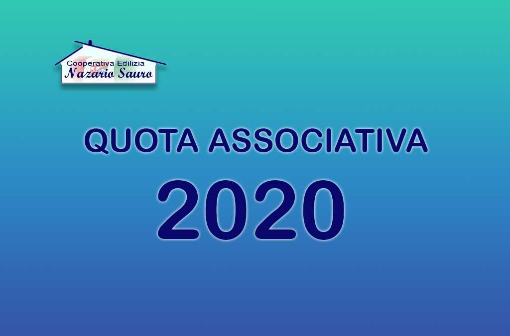 Scadenza quota associativa